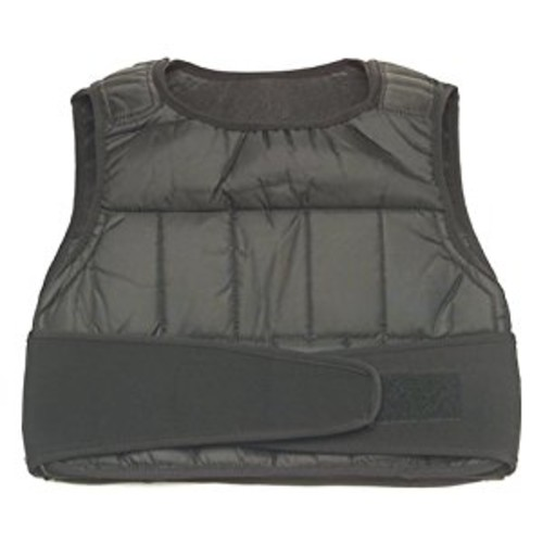 GoFit Adjustable Weighted Vest [20 lbs.]