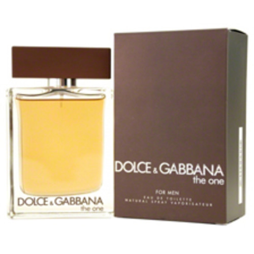 The One by Dolce & Gabbana Eau De Toilette Spray For Men 1.6 OZ