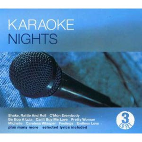Karaoke Nights By Various Artists (Audio CD)