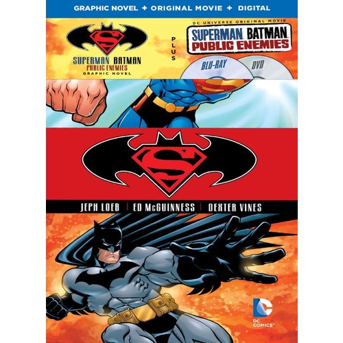 Superman/Batman: Public Enemies [Includes Graphic Novel] [Includes Digital Copy] [Blu-ray/DVD] [2009]