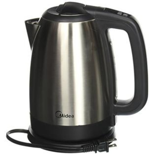 Midea Stainless Cordless Electric Kettle with Temperature Control