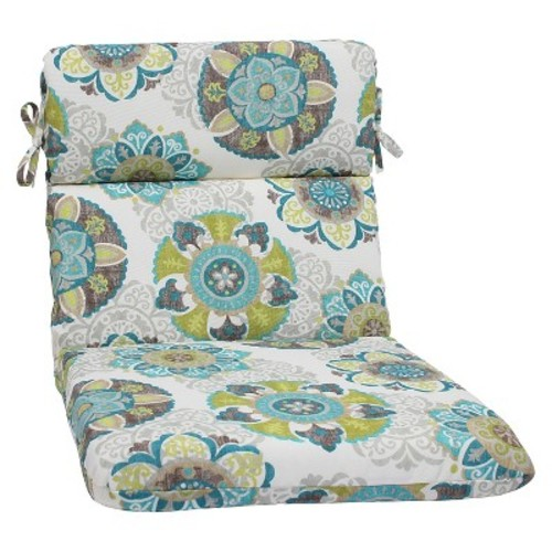 Pillow Perfect Outdoor/ Indoor Allodala Oasis Rounded Corners Chair Cushion