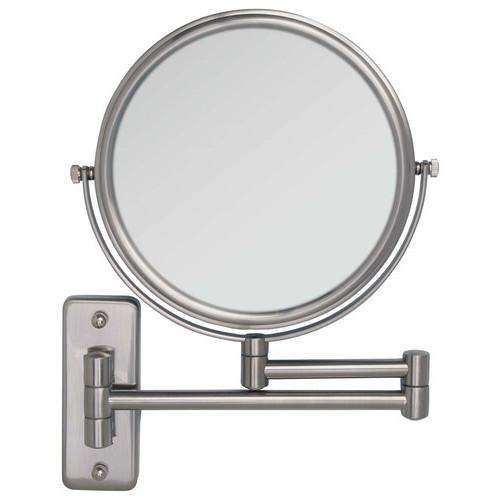 Zadro - Dual-Sided Wall Mirror - Silver