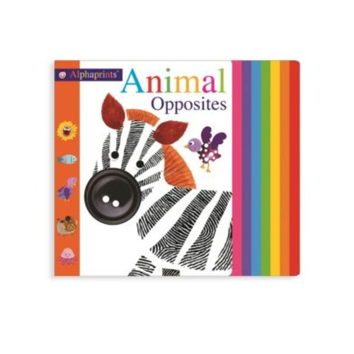Alphaprints Animal Opposites Board Book