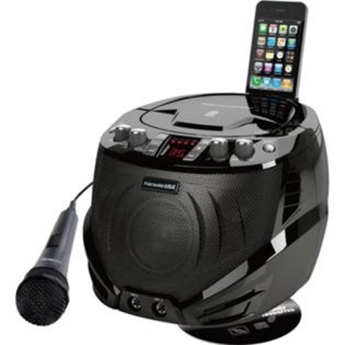 Karaoke USA(TM) GQ262 Portable CD+G Karaoke Player