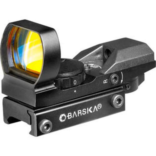 Barska Optics Multi-Reticle Electro Sight, Green/Red IR SKU: AC11704