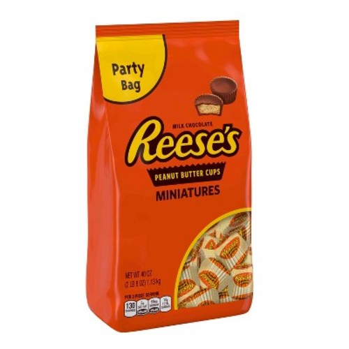 Reese's Miniatures Peanut Butter Cups - 40oz
