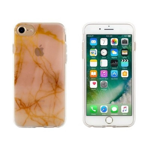 End Scene iPhone 8/7/6s/6 Case - Marble Gold Ombre