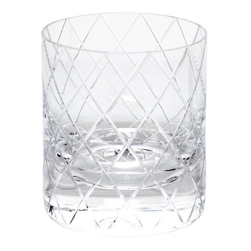 BonBon Double Old Fashioned Glass in Various Colors design by Moser - Clear