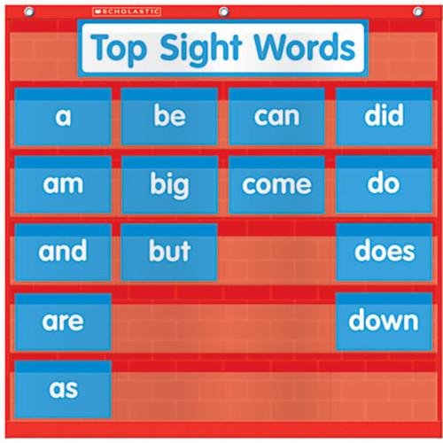 Scholastic Teacher Resources Pocket Chart, Word Wall, 22