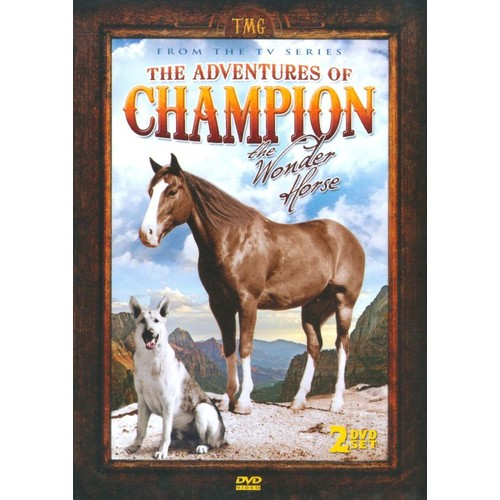 The Adventures of Champion the Wonder Horse [2 Discs] [DVD]