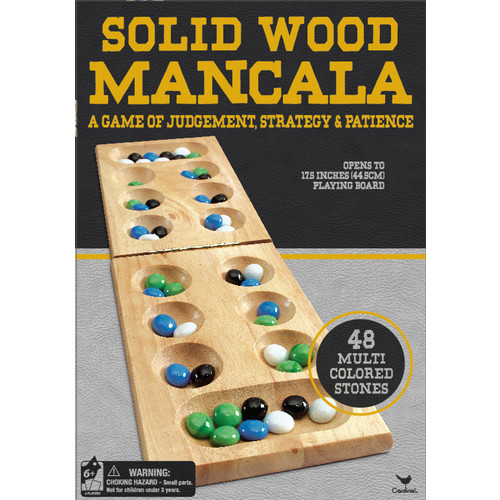 Cardinal Games Deluxe Wood Mancala