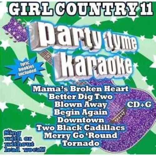 Various - Party Tyme Karaoke: Girl Country 11
