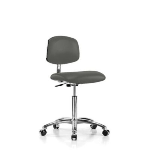 Perch Chairs & Stools Low-Back Desk Chair; Charcoal