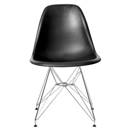 Paris Side Chair (Set of 2) - Color: Black Matte