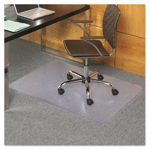 E.S. Robbins EverLife Chair Mats For Medium Pile Carpet, Rectangular, 36 x 44, Clear (ESR121821)