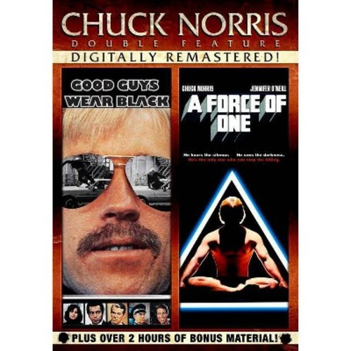 CHUCK NORRIS-DOUBLE FEATURE-GOOD GUYS WEAR BLACK & FORCE ONE (DVD) (DVD)