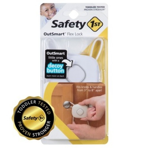Safety 1st OutSmart Flex Lock White