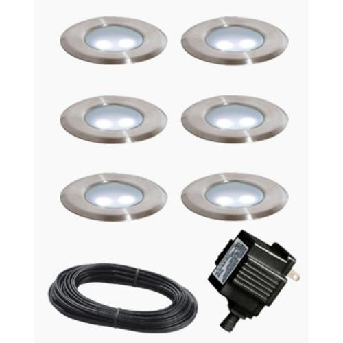 Paradise Garden Low Voltage 6 Pack Deck Lights