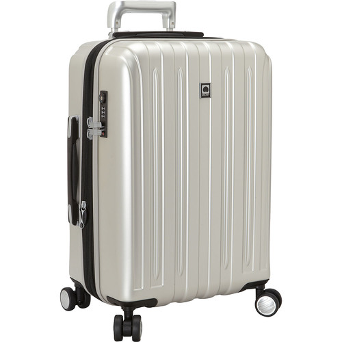 Delsey Helium Titanium International Carry-On Expandable Spinner Trolley