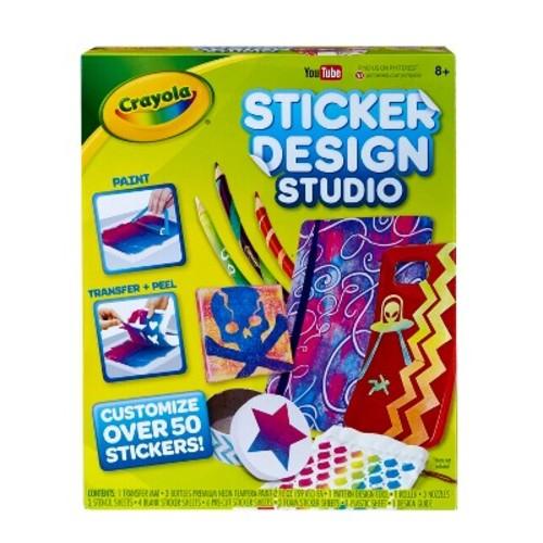 Crayola Sticker Design Studio Activity Set