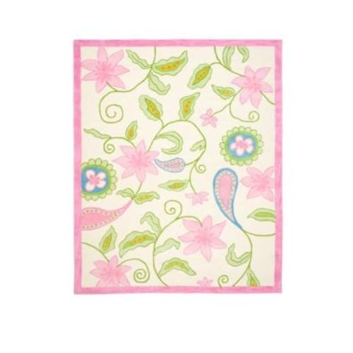 Safavieh - Floral Wool-Blend Rug