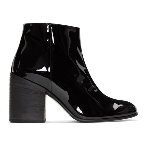 Black Patent Beth Boots