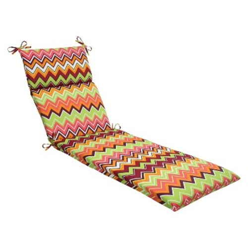 Outdoor Seat Chaise Lounge Cushion - Pillow Perfect