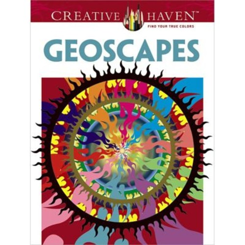 Creative Haven Geoscapes Coloring Book, Paperback