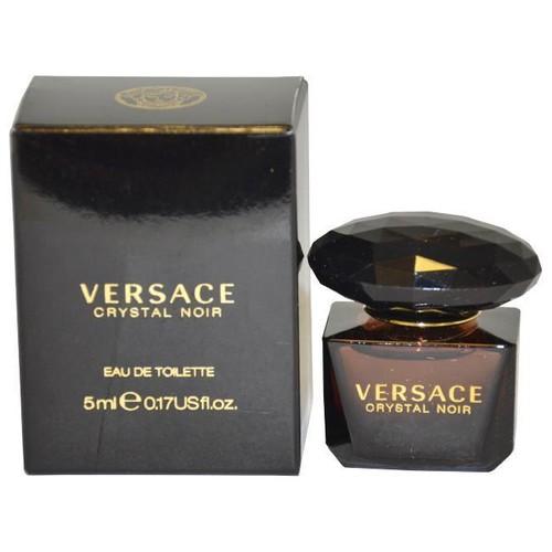 Versace Crystal Noir by Versace for Women Eau De Toilette Splash , 5 ml [5 ml]