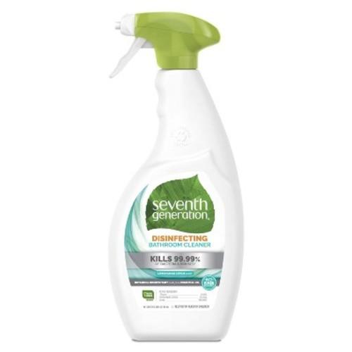 Seventh Generation Lemongrass & Thyme Disinfecting Bathroom Cleaner - 26oz