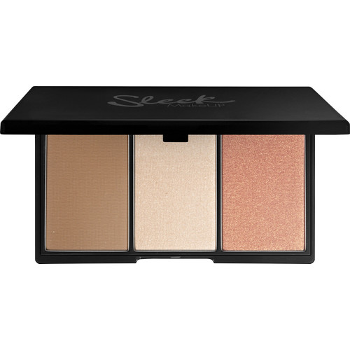 Face Form Contouring and Blush Palette [Light]