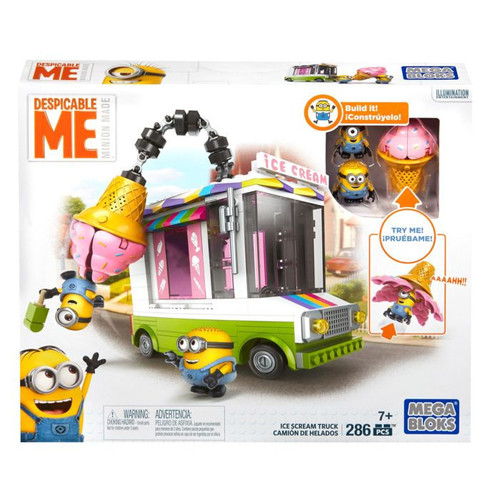Mega Bloks Despicable Me Ice Scream Truck