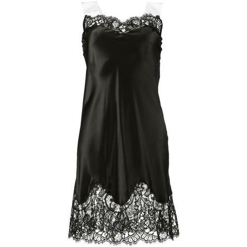 GIVENCHY Lace-Trimmed Slip Dress