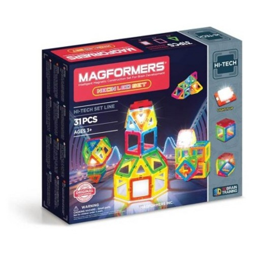 Magformers Neon LED Set - 31pc