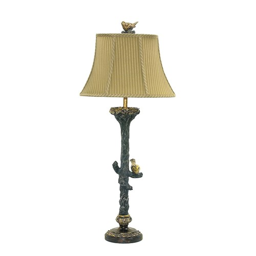 Dimond Bird On Branch Table Lamp