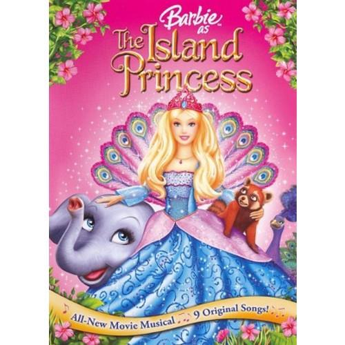 Barbie: The Island Princess DVD
