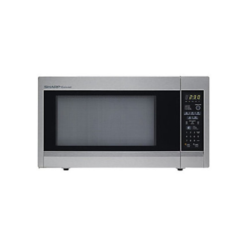 Sharp 1.8 Cu.Ft, 1100W Full-Size Countertop Microwave