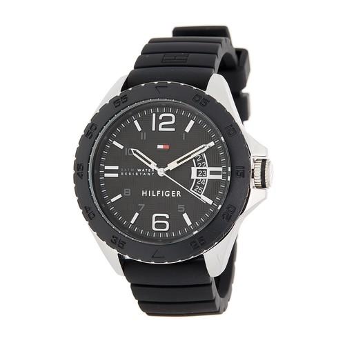 Men's Cody Silicone Strap Watch, 46mm