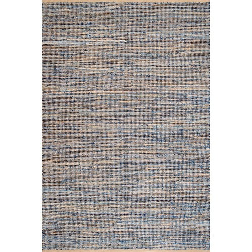 nuLOOM Vernell Jute Natural 7 ft. 6 in. x 9 ft. 6 in. Area Rug