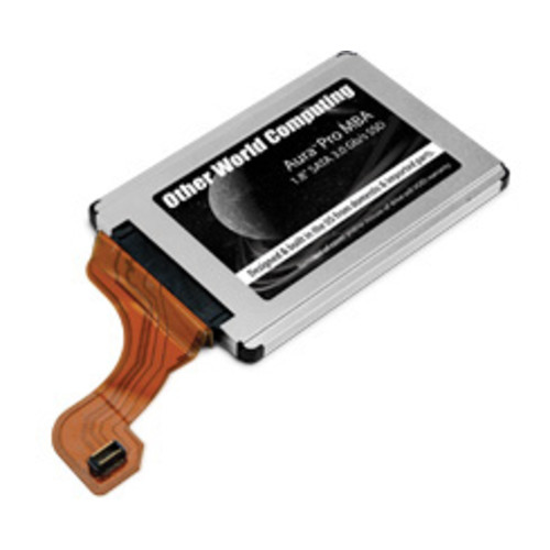 480GB OWC Aura Pro MBA Solid State Drive for MacBook Air 2008/2009 Edition.
