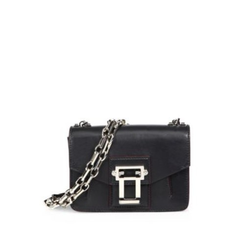 Hava Leather Chain Crossbody Bag