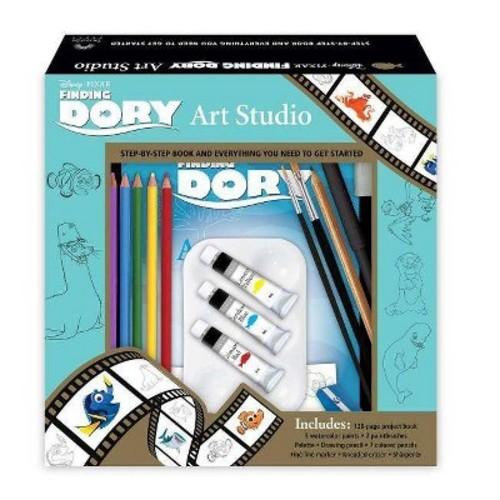 Finding Dory Art Studio : Step-by-step Book and Everything You Need to Get Started (Paperback)