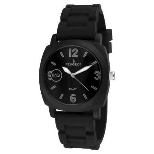 Peugeot LinQ Bluetooth Sports Smart Watch - Black