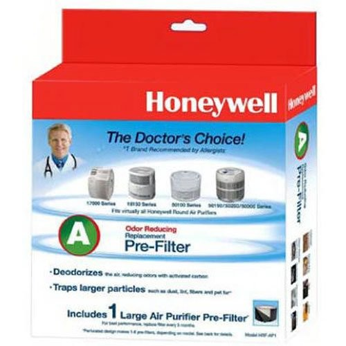 Honeywell Filter A HRF-AP1 Universal Carbon Air Purifier Replacement Pre-Filter [1-Pack]