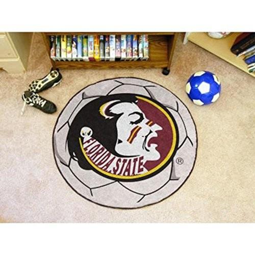 Florida State Soccer Ball Rug