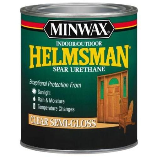 Minwax 1-qt. Clear Semi-Gloss Helmsman Indoor/Outdoor Spar Urethane (4-Pack)