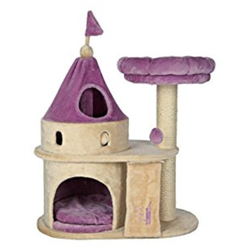 TRIXIE Pet Products My Kitty Darling Castle : Cat Houses And Condos : Pet Supplies [My Kitty Darling Castle]
