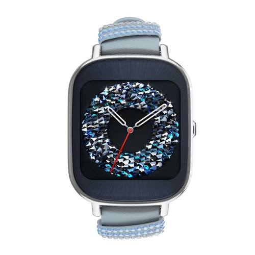 ASUS ZenWatch 2 Wi-Fi Smartwatch with SwarovskiCrystals