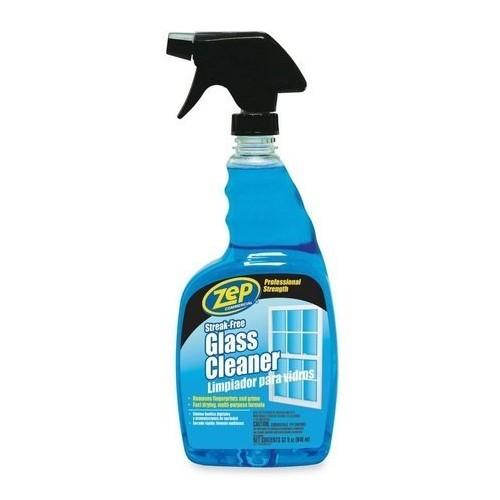 Zep Streak-Free Glass Cleaner, 32 Ounce (2-Pack)